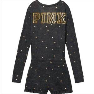 PINK VS Pajama Romper